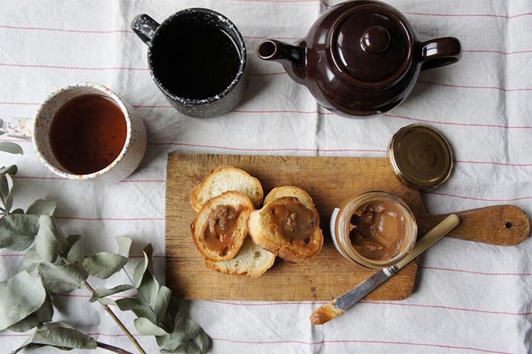 紅茶クリームでティータイム
