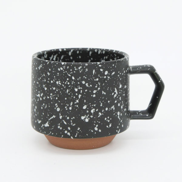 CHIPS stack mug. SPLASH black-white [No.CS002bw]