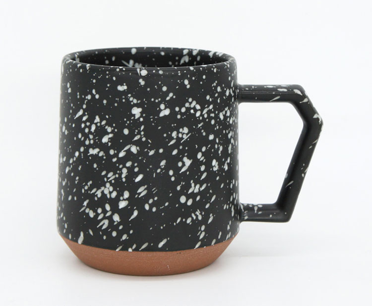 CHIPS MUG SPLASH black-white [No.C002bw]