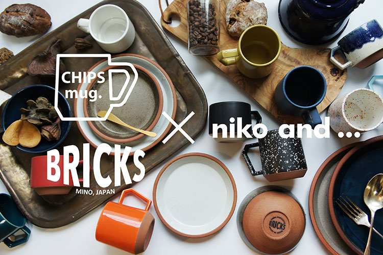 Chips Mug and BRICKS pop up store @ niko and