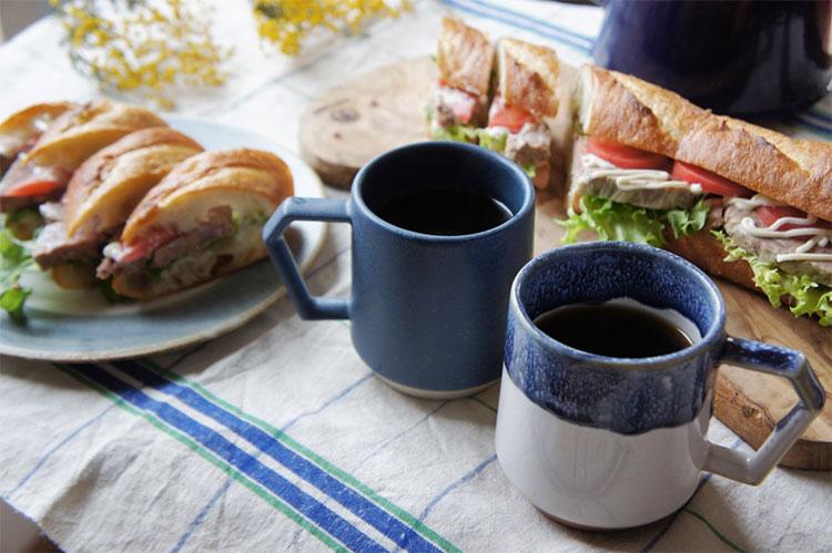 サンドイッチとChips Mug