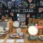 Mission Bayで開催中の「パンとごはんと…」のPop Up Storeの店内の様子の写真を送っていただきました。