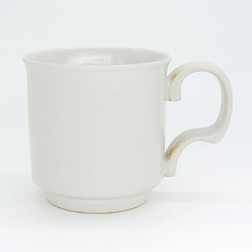 Ancient Pottery White Mug Cup