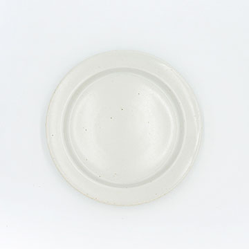 Ancient Pottery White Plate S