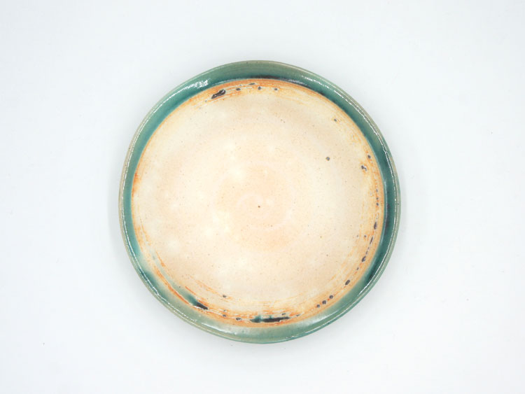 Grossy Pottery Plate S Turkish Blue 艶釉の器プレートSトルコブルー