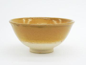 Grossy Pottery Rice Bowl Mont Blanc 艶釉の器ライスボウルモンブラン