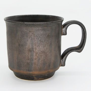 Ancient Pottery Brass Mug Cup