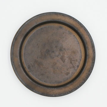 Ancient Pottery Brass Plate S