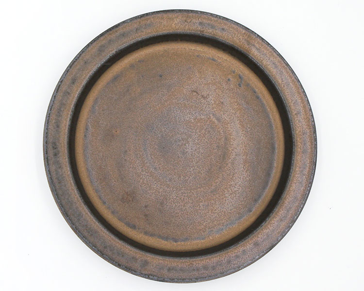 Ancient Pottery Brass Plate L