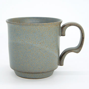 Ancient Pottery Gray Mugcup