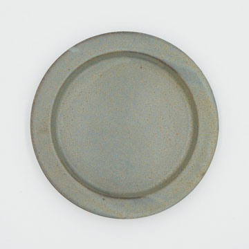 Ancient Pottery Gray Plate S