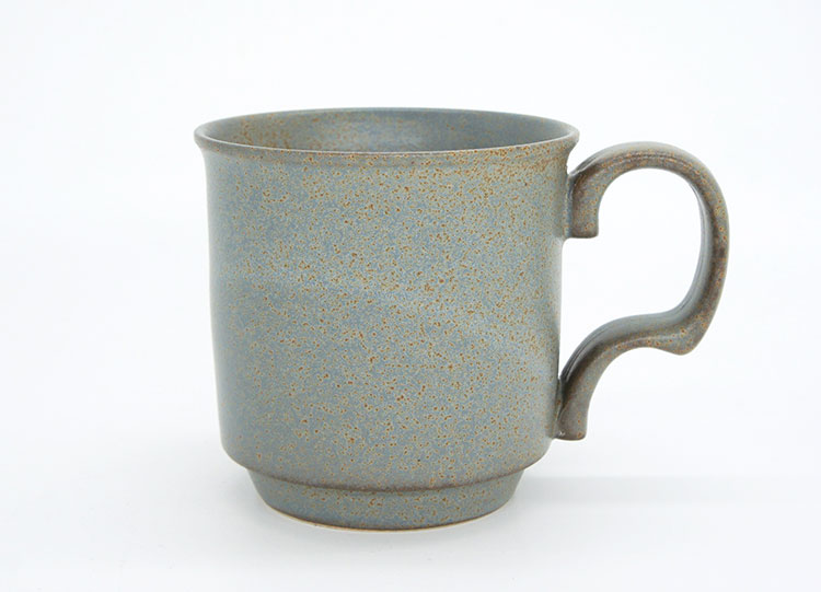 Ancient Pottery Gray Mug Cup