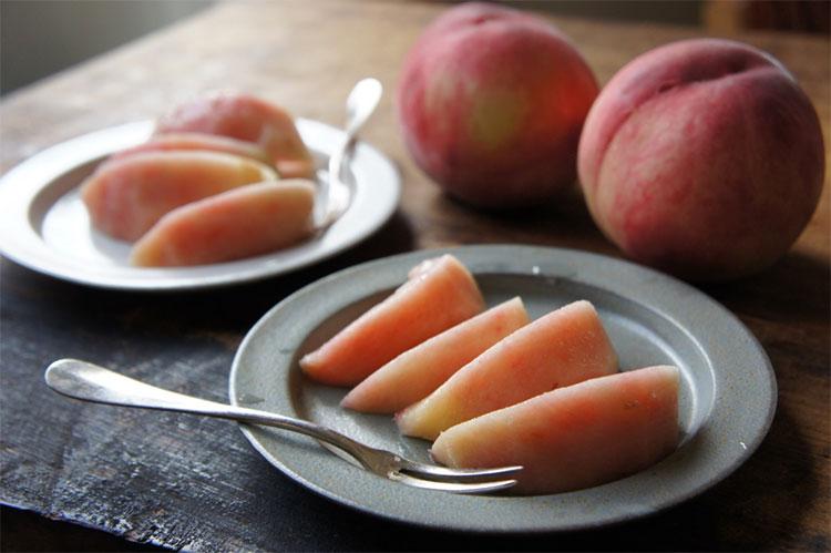 おいしい桃をAncient Potteryで。