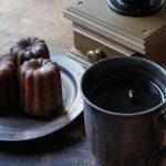 【スタッフのBlog】猛暑日でも、ホットコーヒーとカヌレ。