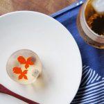 【スタッフのBlog】涼しげな金魚の和菓子でひとときの涼しさを。