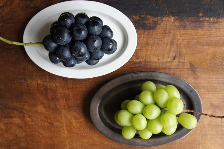 Ancient Pottery Grapes