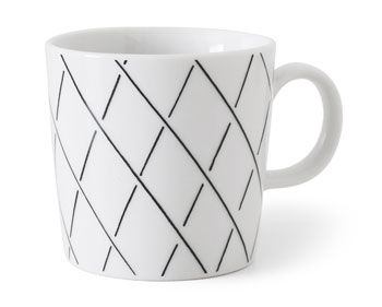 Soroi Draw Check Mug Cup