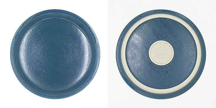 CHIPS plate. MAT Sand-Blue [NoCP001bl]