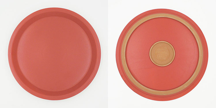CHIPS plate. MAT Red [NoCP001rd]