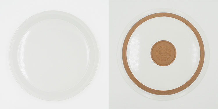 CHIPS plate. SOLID COLOR White [NoCP008]