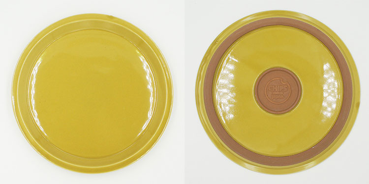CHIPS plate. SOLID COLOR Mustard [NoCP009]