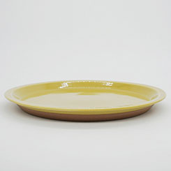 CHIPS PLATE SOLID COLOR No.CP009 Mustard
