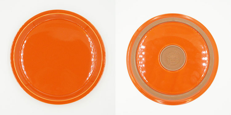 CHIPS plate. SOLID COLOR Orange [NoCP011]