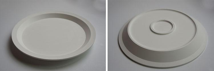 Chips Plateの石膏型