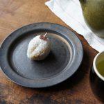 干し柿の形をした和菓子