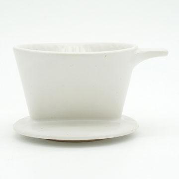 Ancient Pottery White Dripper - エイシェントポタリー ホワイト ドリッパー