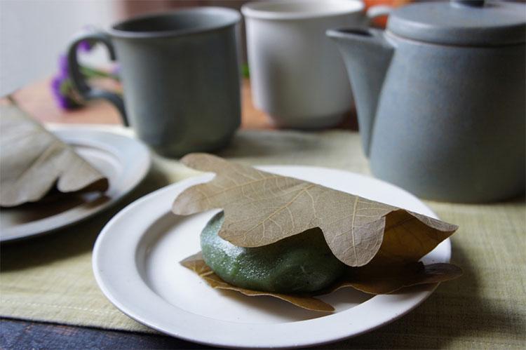 Ancient Potteryと柏餅