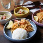 タイ料理とパンとごはんとの新作