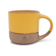 Bricks Mug Cup Yellow