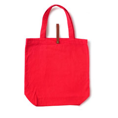 Bricks Tote Red