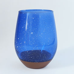 CHIPS GLASS SPLASH CG002nw Navy-White