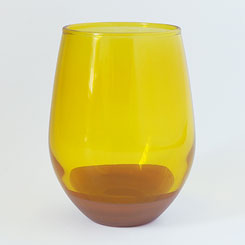 CHIPS GLASS SOLID COLOR CG009 Mustard
