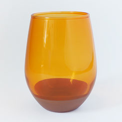 CHIPS GLASS SOLID COLOR CG011 Orange