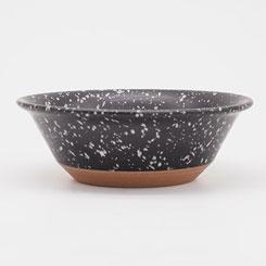 CHIPS bowl SPLASH CB002bw Black-White